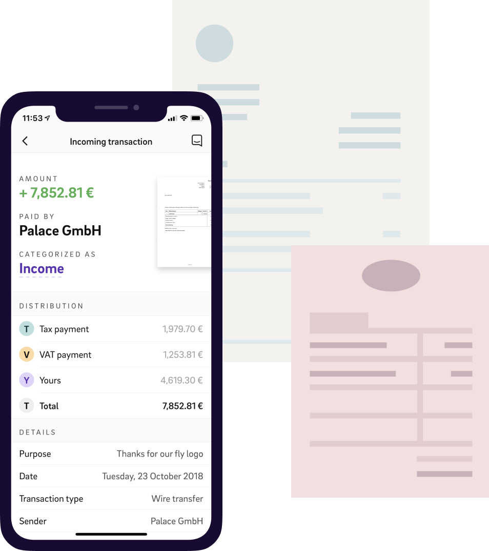 Invoice Preview in App